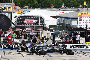 IndyCar Race report KV Racing Technology driver Tony Kanaan finishes 10th at Milwaukee Indyfest