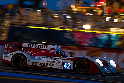 Nissan power holding strong on a sad day for racing