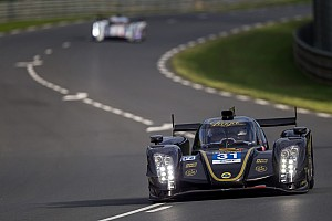 Le Mans Breaking news Lotus Praga LMP2 retire from the 24 Hours of Le Mans