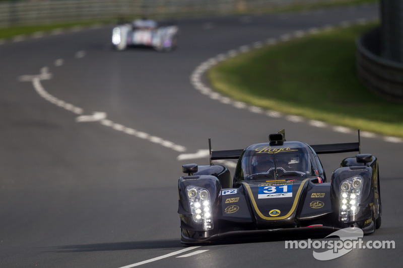 Lotus Praga LMP2 retire from the 24 Hours of Le Mans