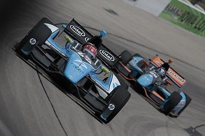 Pagenaud and Vautier beat the heat to start 11th and 15th for the Iowa 250