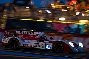 Le Mans Race report Nissan success on and off track at Le Mans