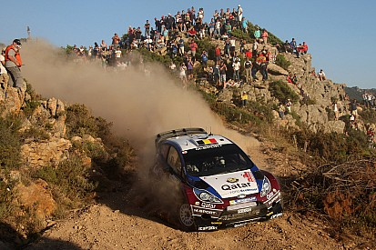 Neuville secures podium with second in Rally Italia Sardegna