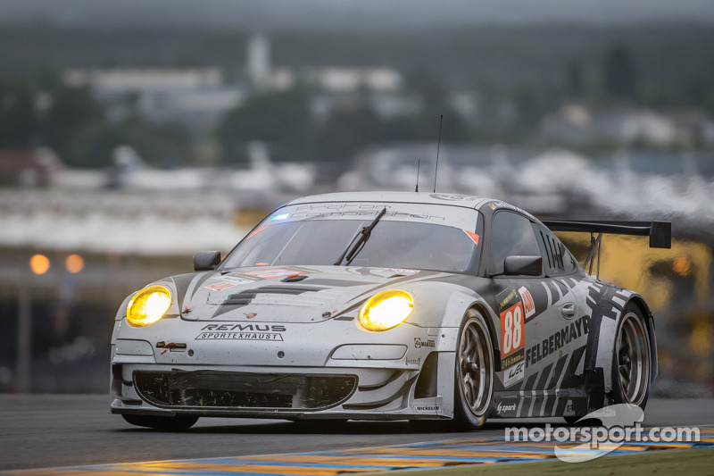 Competitive Paolo Ruberti in a tragic and unlucky 24 Hours of Le Mans