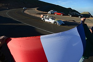 Hillclimb Testing report Final dress rehearsal for Romain Dumas - Pikes Peak