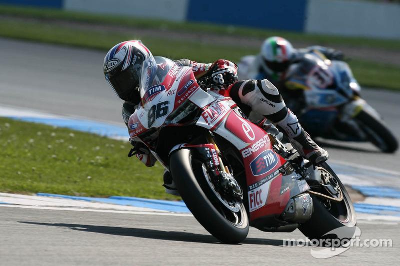 Badovini qualify eighth for tomorrow's SBK races at Imola