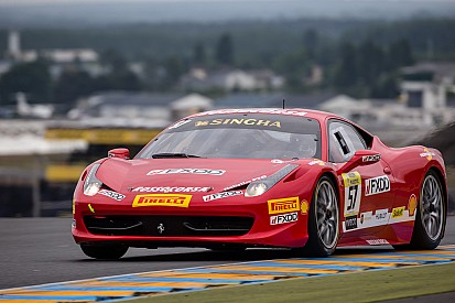 Jeff Segal qualify third for sunday's Six Hours of the Glen