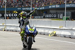 MotoGP Race report The Doctor delivers 80th premier class win at Assen
