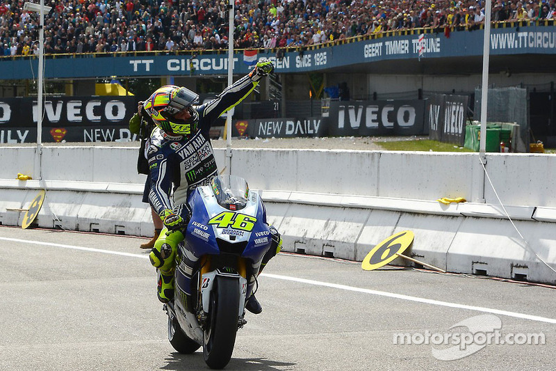 The Doctor delivers 80th premier class win at Assen