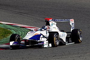 GP3 Race report Trident Racing's Venturini scored his maiden win at Silverstone