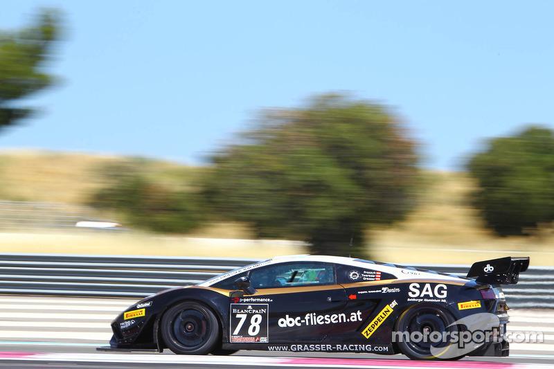 Lamborghini Blancpain Super Trofeo has successful debut at Lime Rock Park