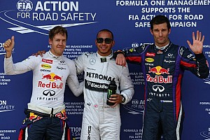 Formula 1 Qualifying report Hamilton displaces Vettel to take German GP pole