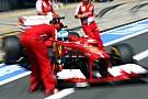 A strategic qualifying for Ferrari in German GP