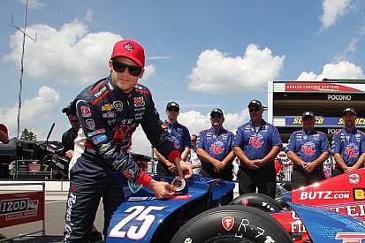 Andretti grabs his home pole for Pocono Indy 400