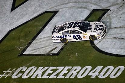 Johnson ties Daytona record with the Coke Zero 400 victory