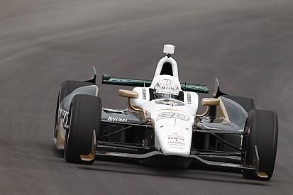 Carpenter qualifies 15th Saturday at Pocono