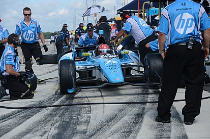"Pagenaud 9th, Vautier 11th in qualifications at the ""Tricky Triangle"""