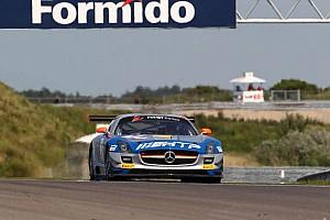 Blancpain Sprint Race report First series win for HTP Gravity Charouz Mercedes team in Zandvoort