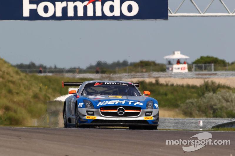 First series win for HTP Gravity Charouz Mercedes team in Zandvoort