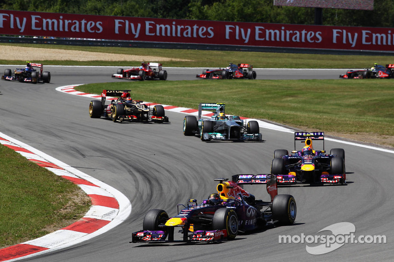 Victory for Red Bull's Vettel in Germany