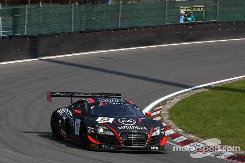 One win and three other podium finishes for the Belgian Audi Club Team WRT at Zandvoort