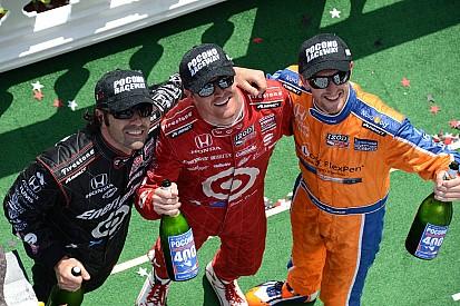 Dixon leads 1-2-3 Honda sweep at Pocono Raceway