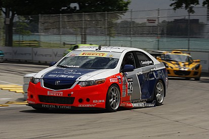Rough and tumble Lime Rock for RealTime Acura