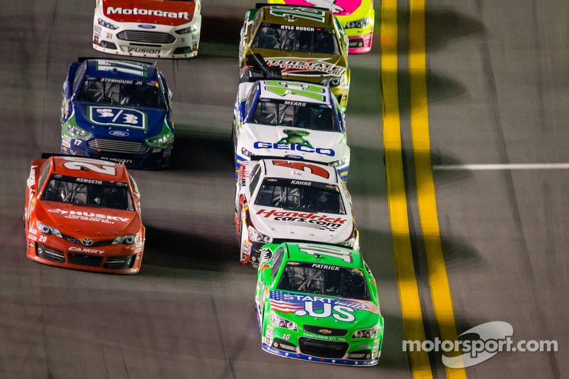 15th consecutive week in a race for Danica Patrick at New Hampshire