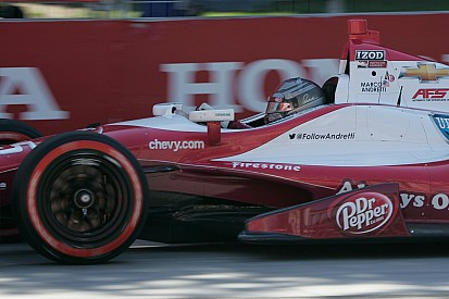 4th - the best result for Andretti Autosport at Toronto by Marco