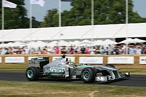 Formula 1 Special feature Formula One drivers feature in the 20th Festival of Speed at Goodwood