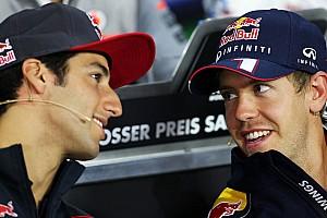 Formula 1 Breaking news Horner admits Ricciardo test linked to 2014 seat