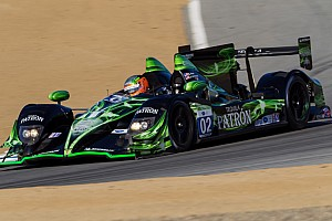 ALMS Preview ESM Patrón driven to greet checkered flag first at CTMP