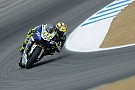 Yamaha gets down to business in Laguna Seca