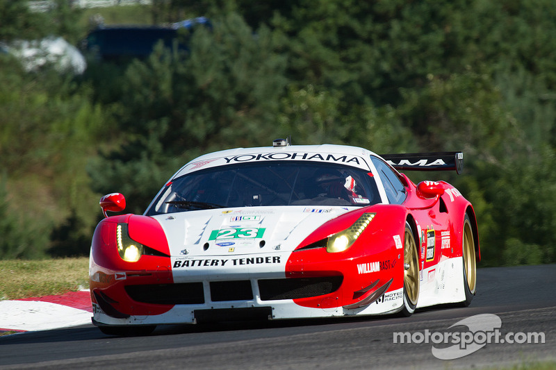 Keen and Bell to start team AJR Ferrari from fifth row in GT at Mosport