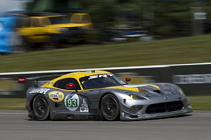 SRT Viper GTS-R had second and third-place finishes at Mosport