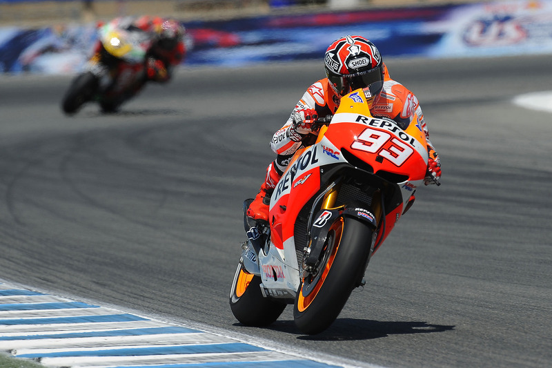 Bridgestone: Marquez makes history with remarkable victory at Laguna Seca
