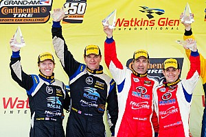 Grand-Am Race report Exciting CTSCC podium finish for Carter and Plumb at The Glen