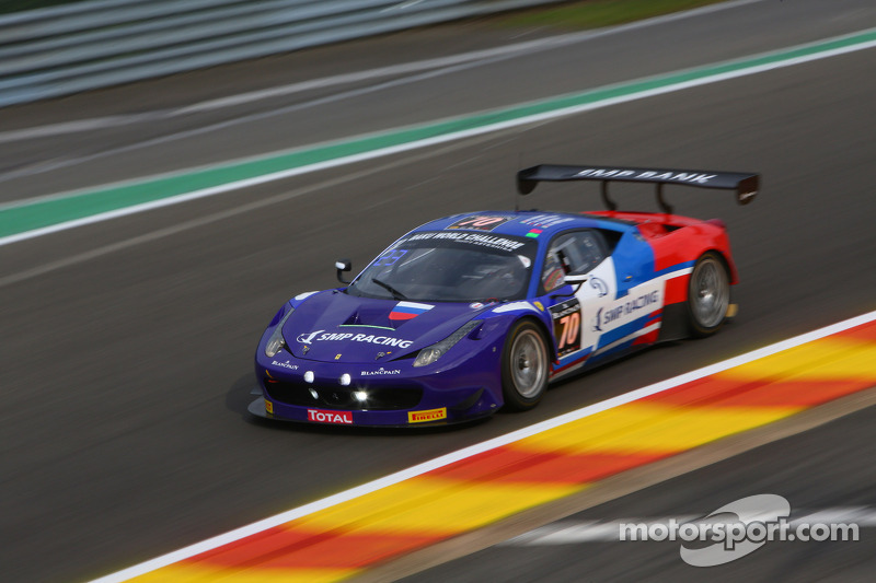 SMP Racing Ferrari takes provisional pole for 65th Total 24 Hours of Spa