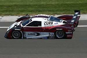 Grand-Am Race report Tough day at the Brickyard for Michael Shank Racing