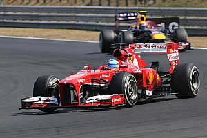 Formula 1 Race report Alonso and Massa in the points on the Hungarian GP