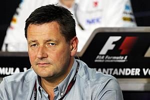 Formula 1 Breaking news No tyre war unless rules change - Hembery