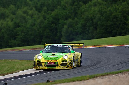 Porsche 911 GT3 R of Manthey-Racing finishes on position two at Spa