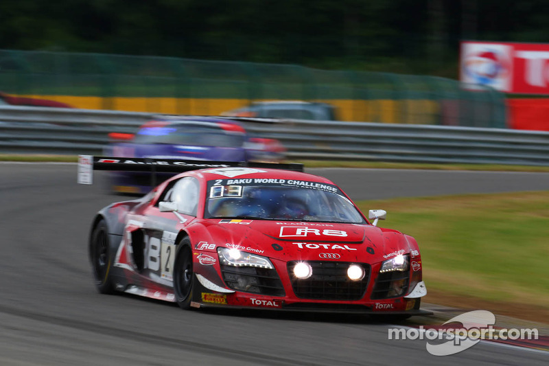 The podium finish, a small consolation for the Belgian Audi Club and Team WRT at Spa