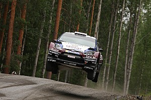 WRC Leg report Qatar M-Sport midday quotes on Day 3 in Finland