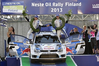 Victory for Ogier in Rally Finland