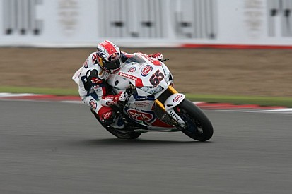 An all British podium in first WSBK race at Silverstone