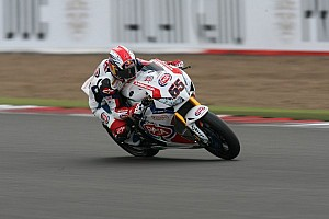 World Superbike Race report An all British podium in first WSBK race at Silverstone