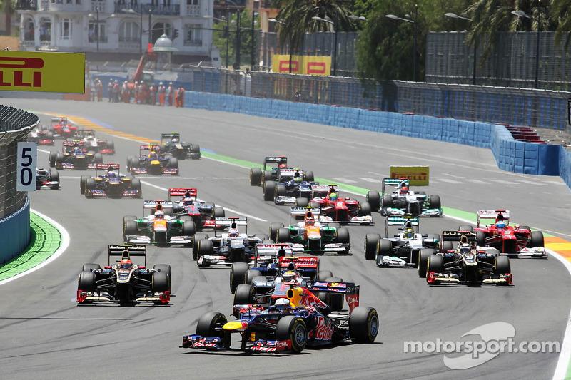 Valencia Calendar.Valencia Left Off Fia Formula One 2014 Calendar