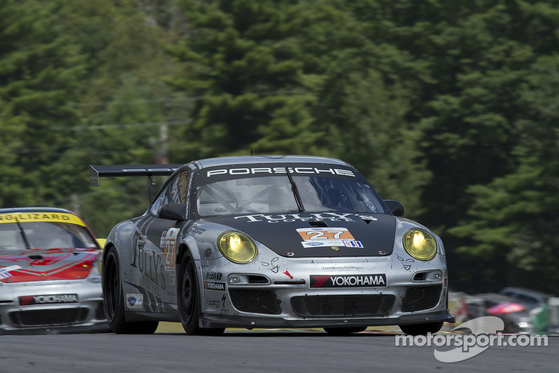 Patrick Dempsey Andy Lally Return To Site Of Teams Best 2012