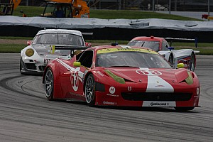 Grand-Am Qualifying report Leh Keen shatters Road America GT course record  by 3.5 seconds